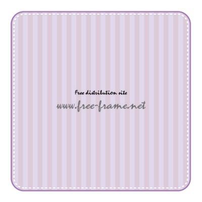 紫色の角丸四角形フレーム・枠