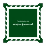 緑色の四角枠フレーム