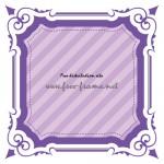紫色の四角枠フレーム